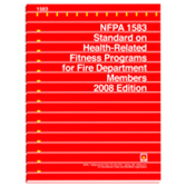NFPA 1583: Standard on Health-Related Fitness Programs for Fire Department Members