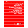 2013 NFPA 1600: Standard on Disaster/Emergency Management and Business Continuity Programs