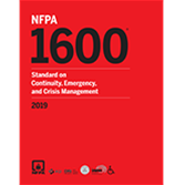 NFPA 1600, Standard on Continuity, Emergency, and Crisis Management