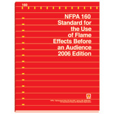 NFPA 160: Standard for the Use of Flame Effects Before an Audience, Prior Years