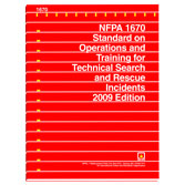 NFPA 1670: Standard on Operations and Training for Technical Search and Rescue Incidents, Prior Years