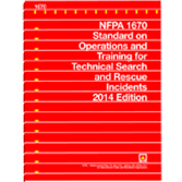 NFPA 1670: Standard on Operations and Training for Technical Search and Rescue Incidents