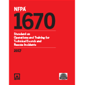 2017 NFPA 1670 Standard - Current Edition