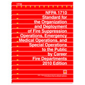 NFPA 1710: Standard for the Organization and Deployment of Fire Suppression Operations, Emergency Me