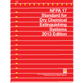 nfpa 17 standard for dry chemical extinguishing systems