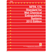 NFPA 17A: Standard for Wet Chemical Extinguishing Systems