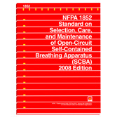 NFPA 1852: Standard on Selection, Care, and Maintenance of Open-Circuit Self-Contained Breathing Apparatus (SCBA), Prior Years