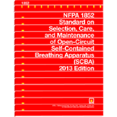 NFPA 1852: Standard on Selection, Care, and Maintenance of Open-Circuit Self-Contained Breathing App