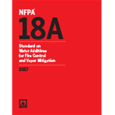 2017 NFPA 18A Standard - Current Edition