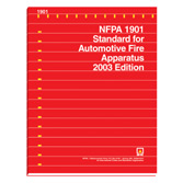 NFPA 1901: Standard for Automotive Fire Apparatus, Prior Years
