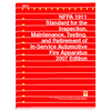 NFPA 1911: Standard for the Inspection, Maintenance, Testing, and Retirement of In-Service Automotive Fire Apparatus, Prior Years