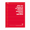 2000 NFPA 1915:  Standard for Fire Apparatus Preventive Maintenance Program