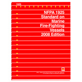 NFPA 1925: Standard on Marine Fire-Fighting Vessels, Prior Years