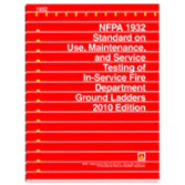 NFPA 1932: Standard on Use, Maintenance, and Service Testing of In-Service Fire Department Ground Ladders, Prior Years