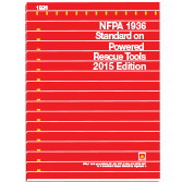 NFPA 1936: Standard on Powered Rescue Tools