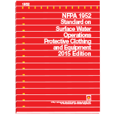 NFPA 1952: Standard on Surface Water Operations Protective Clothing and Equipment