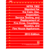 NFPA 1962: Standard for the Care, Use, Inspection, Service Testing, and Replacement of Fire Hose, Co