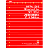 NFPA 1965: Standard for Fire Hose Appliances