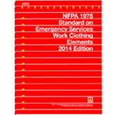 NFPA 1975: Standard on Emergency Services Work Clothing Elements
