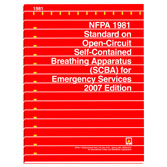 NFPA 1981: Standard on Open-Circuit Self-Contained Breathing Apparatus (SCBA) for Emergency Services, Prior Years