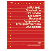 NFPA 1983: Standard on Life Safety Rope and Equipment for Emergency Services, Prior Years