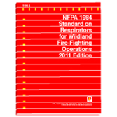 NFPA 1984: Standard on Respirators for Wildland Fire Fighting Operations