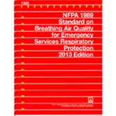 NFPA 1989: Standard on Breathing Air Quality for Emergency Services Respiratory Protection