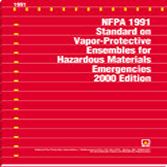 NFPA 1992: Standard on Liquid Splash-Protective Ensembles and Clothing for Hazardous Materials Emergencies, Prior Years