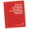 2005 NFPA 1991: Standard on Vapor-Protective Ensembles for Hazardous Materials Emergencies