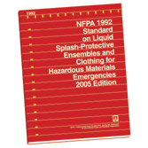 NFPA 1994: Standard on Protective Ensembles for First Responders to CBRN Terrorism Incidents, Prior Years