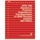 NFPA 1999: Standard on Protective Clothing for Emergency Medical Operations, Prior Years