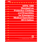 NFPA 1999: Standard on Protective Clothing and Ensembles for Emergency Medical Operations
