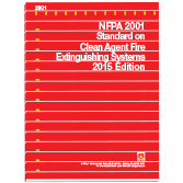 NFPA 2001: Standard on Clean Agent Fire Extinguishing Systems