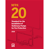 Buy NFPA 20, Standard for the Installation of Stationary Pumps for