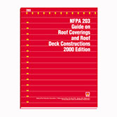 NFPA 203: Guide on Roof Coverings and Roof Deck Constructions