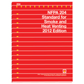 NFPA 204: Standard for Smoke and Heat Venting