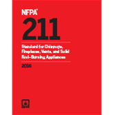 NFPA 211: Standard for Chimneys, Fireplaces, Vents, and Solid Fuel-Burning Appliances