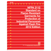 NFPA 2112: Standard on Flame-Resistant Garments for Protection of Industrial Personnel Against Flash