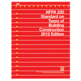 NFPA 220: Standard on Types of Building Construction, Prior Years