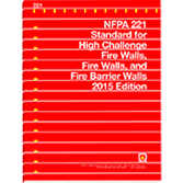 NFPA 221: Standard for High Challenge Fire Walls, Fire Walls, and Fire Barrier Walls
