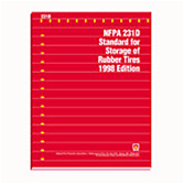 NFPA 231D: Standard for Storage of Rubber Tires