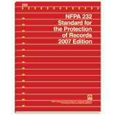 NFPA 232: Standard for the Protection of Records, Prior Years