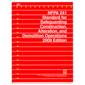 NFPA 241: Standard for Safeguarding Construction, Alteration, and Demolition Operations, Prior Years
