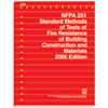 2006 NFPA 251: Standard Methods of Tests of Fire Endurance of Building Construction and Materials