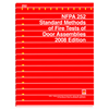 NFPA 252: Standard Methods of Fire Tests of Door Assemblies, Prior Years
