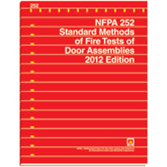 Nfpa 252 standard methods of fire tests of door assemblies for Nfpa 99 table of contents