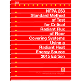 NFPA 253: Standard Method of Test for Critical Radiant Flux of Floor Covering Systems Using a Radian