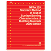 2006 NFPA 255: Standard Method of Test of Surface Burning Characteristics of Building Materials