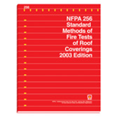NFPA 256: Standard Methods of Fire Tests of Roof Coverings