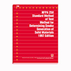 NFPA 258: Recommended Practice for Determining Smoke Generation of Solid Materials, Prior Years